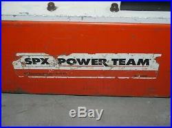 SPX Power Team PE554PT D Electric Portable Hydraulic Pump 10,000PSI/700Bar
