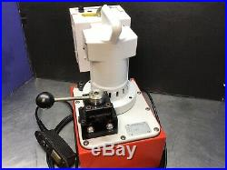 SPX Power Team PE554 Hydraulic Pump Double Acting Cylinders 10,000 PSI NICE