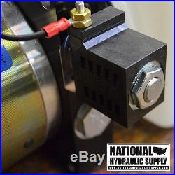 SPX Stone/Fenner 12VDC Single Acting Hydraulic Power Unit, Pump, Dump Trailer, Lift