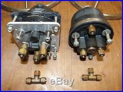Seastar Teleflex Dual Hydraulic Power Steering Helm Pump Ram
