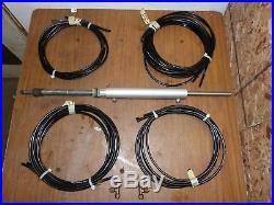 Seastar Teleflex Dual Hydraulic Power Steering Helm Pump Ram Cylinder Hoses Kit