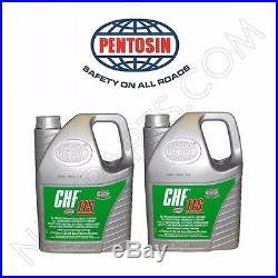 Set of 2 5-Liter Jugs Pentosin CHF11S Power Steering Fluid Hydraulic Pump Fluid
