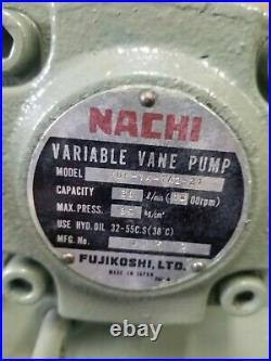 Showa Hydraulic Power Unit Vdru-ia-40bhx Nachi Variable Pump Vdr-1a