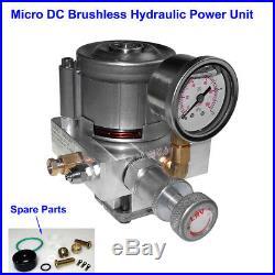 Single Acting Hydraulic Power Unit Pack Gear Oil Pump 12V Tank Dump Trailer Lift