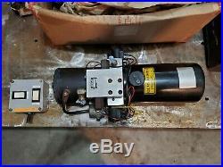 Snow Plow Hydraulic Power Unit pump Haldex/Barnes