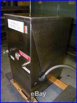 Stainless steel 1/2hp hydraulic power pack pump vickers 115/230volt. 5