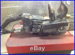 Stanley Hydraulic Lynx Concrete Cutting Saw withGas Powered Hydraulic Pump