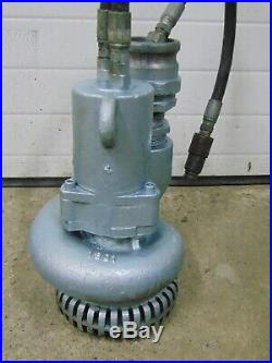 Stanley Hydraulic Powered Submersible Sump Trash Water Pump
