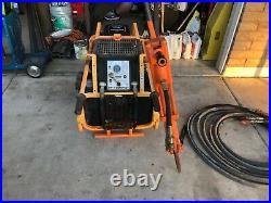 Stanley gas powered hydraulic pump18 HP Vanguard motor, electric start, 23 hr