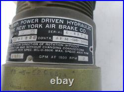 Stratopower 67WB Power Driven Hydraulic Pump AF33-038-1494S Aircraft BOX#10S