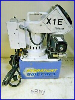 Sweeney Hydratight SPX X1E1 10,000 PSI Hydraulic Pump Torque Power Console 110v