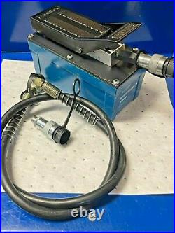 TEMCo HP0000 Air Hydraulic Pump Power Pack Unit 10,000 PSI 103 in3 Cap (USED)