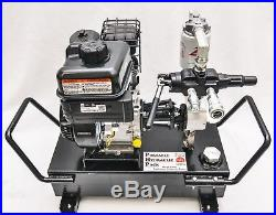 ToolTuff Gas Hydraulic Power Unit Pack, Pump Station, Electric Start 6.5hp 7gpm