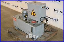 Traub HYV-A25 / 5000 1HP Hydraulic Pump Power Unit & Reservoir