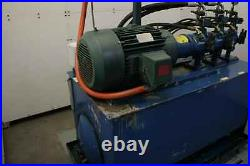 Twin Rexroth 20 HP Hydraulic Power Unit AA10VS045DFR/30R 3000 PSI / 150 Gallons