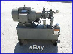 UNISOURCE 45 HP 30-GALLON HYDRAULIC POWER UNIT, with VICKERS PUMP