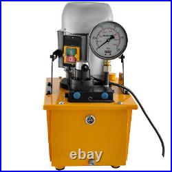 VEVOR Electric Hydraulic Pump Power Pack 2 Stage Double Acting 10K PSI 7L Cap