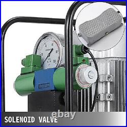 VEVOR Electric Hydraulic Pump Power Pack 2 Stage Solenoid Double Acting 10K PSI