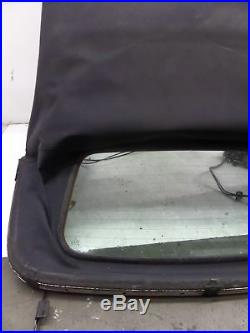 VW Cabrio Power Roof incl Convertible Top Blue MK3.5 99-02 OEM with Hydraulic Pump