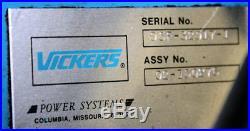 Vickers 10HP Hydraulic Power Unit 106 GPM