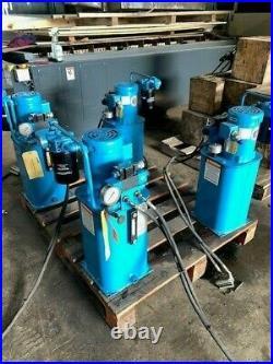 Vickers TK5V-V15F-M-P1A Hydraulic Power Unit