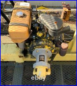 Wisconson 2 Cyl Gas Engine With Hydraulic Pump Power Take Off 244hr Runs Great