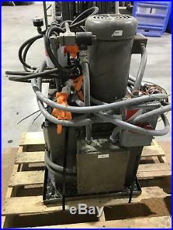 Womack Systems 5HP Hydraulic Power Unit 208/230/460V 3PH